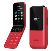 《諾基亞》Nokia 2720 Flip 2.8吋螢幕翻蓋4G手機(紅色)