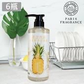 《巴黎香氛》潔淨所能PH5.5水果酵素清潔液500ml/瓶(x6瓶)