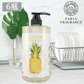《巴黎香氛》潔淨所能PH5.5水果酵素清潔液1000ml/瓶(x6瓶)