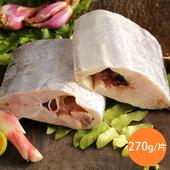 《上野物產》【上野物產】當季野生船釣極厚切中段白帶魚 (270g土10%/片)(6片)