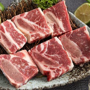 《上野物產》【上野物產】美國頂級原切帶骨牛小排 (500g土10%/包)(2包)-上野物產單筆滿$999送宜蘭薄鹽鯖魚(90g±10%)*2片