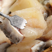 《上野物產》【上野物產】龍膽石斑魚切丁 (300g土10%/包)(3包)買就送:鮮脆刻花魷魚 (250g±10%) *1包