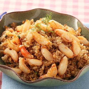 《上野物產》特選鮮甜蟹腿肉 (100g土10%/盒)(6盒)買就送:鮮脆刻花魷魚 (250g±10%) *1包