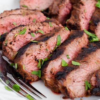 《上野物產》美國嚴選頂級嫩角尖牛排 (120g土10%/片)(7片)-上野物產單筆滿$999送宜蘭薄鹽鯖魚(90g±10%)*2片