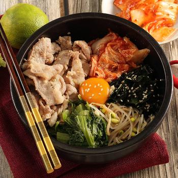 《上野物產》韓式燒烤豬五花 (500g土10%/盒)(2盒)買就送:鮮脆刻花魷魚 (250g±10%) *1包