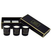 Scented。香氛蠟燭禮盒3入(英國梨&小蒼蘭x1、鼠尾草海鹽x1、藍風鈴x1)