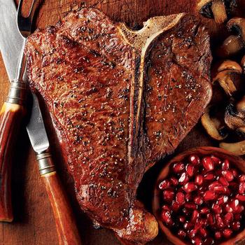 《上野物產》澳洲頂級丁骨牛排 (280g土10%/片)(3片)