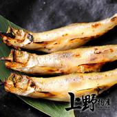 《上野物產》加拿大極鮮柳葉魚 (400g±10%/包)(5包)