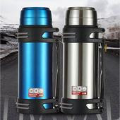 《304不鏽鋼》2L保溫瓶藍