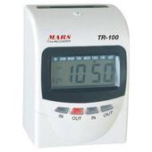 《MARS》TR-100 四欄位 微電腦 變色液晶 打卡鐘※加贈卡片兩百張+10人卡架