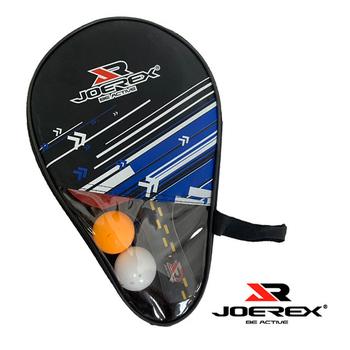 《JOEREX》《JOEREX》六星長柄雙反膠乒乓拍/桌球拍套裝-JTB601B