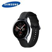 《Samsung》Galaxy Watch Active2 44mm不鏽鋼智慧型手錶(午夜黑)
