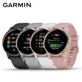 《Garmin》Vivoactive 4S 小巧俐落GPS智慧腕錶(石墨黑)
