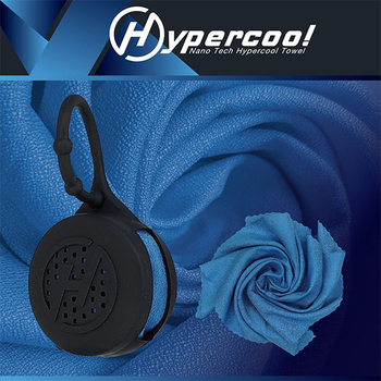 《Hypercool》奈米科技極度涼感巾【S】(神秘黑藍)