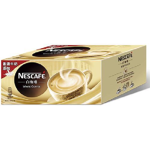 即期2020.07.31 雀巢 咖啡三合一白咖啡原味(36g*30包/盒)
