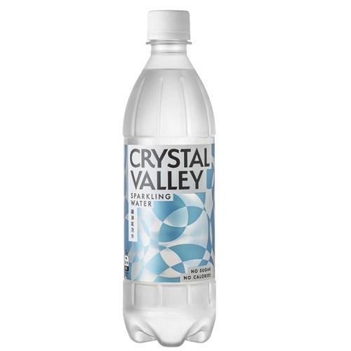 《Crystal Valley》礦沛氣泡水(585ml/瓶)