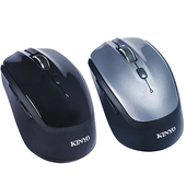 《KINYO》無所拘束-藍牙3.0雙模2.4G滑鼠 GBM1820(黑)