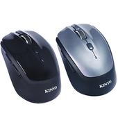 《KINYO》無所拘束-藍牙3.0雙模2.4G滑鼠 GBM1820(灰)