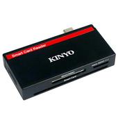 《KINYO》Type-C 多合一四插槽晶片讀卡機 KCR513(台)
