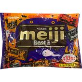 《明治》代可可脂綜合巧克力袋裝-萬聖節版184g/袋
