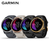 《Garmin》Venu 悠遊卡智慧型運動手錶 AMOLED 螢幕(石墨黑)
