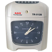 《KOJI》TR-512B 雙色指針式 打卡鐘※贈打卡紙100張+10人卡架