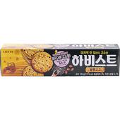 《韓國LOTTE》Harvest餅乾-100g/盒(芝麻杏仁)