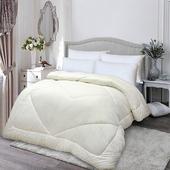 《【Victoria】》美麗諾雙人羊毛絨被 2.8公斤(6x7尺)