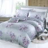 《【Victoria】》新科技天絲抗菌吸濕排汗五件式雙人床罩組-繁花(5x6.2尺)
