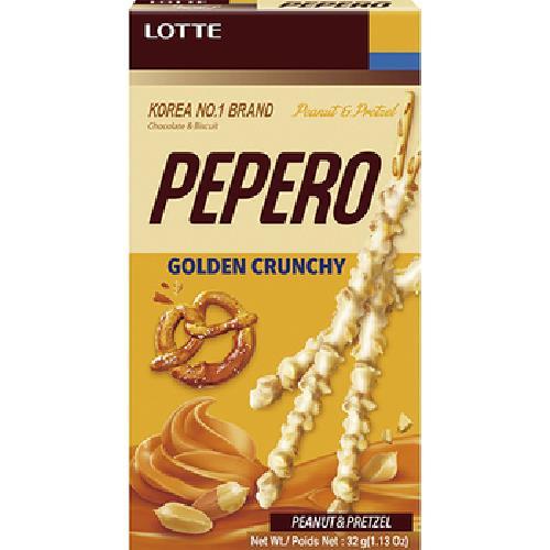 《LOTTE》PEPERO-鹹甜爽脆花生棒(32G)