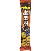 《LOTTE》巧克力曲奇迷你餅乾(69g)