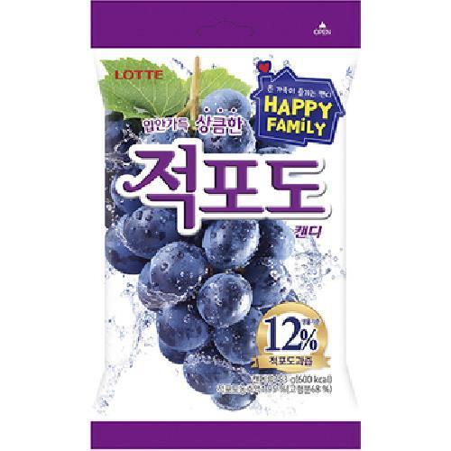 《LOTTE》紫葡萄糖(153g)