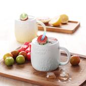 水果吸管馬克杯-尺寸:直徑8.5cm*10cm/容量:520ml(西瓜)