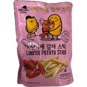 《金大師》薯條-18克*4包/袋(龍蝦風味)
