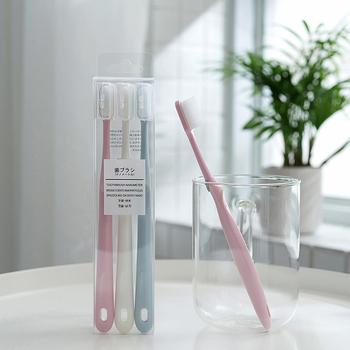 日式 奈米矽膠牙刷(3入裝)