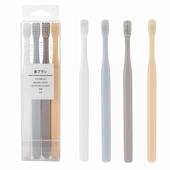 日式 軟毛小頭牙刷(4入)