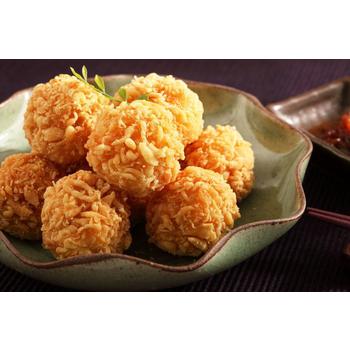 《上野物產》黃金熔岩鮮蝦球(250g土10%/包)(3包)
