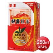 《津津》好麥紅茶(250mlx24包/箱)