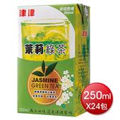 《津津》茉莉綠茶(250mlx24包/箱)