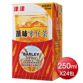 《津津》原味麥仔茶250mlx24包/箱 $129