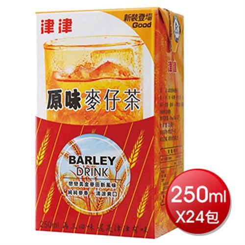《津津》原味麥仔茶(250mlx24包/箱)