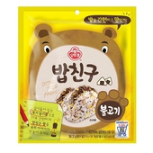 《韓國不倒翁》海苔香鬆-36.3g/包(韓式烤肉風味-即期2020.07.28)