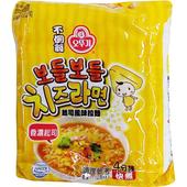 《即期2020.05 韓國不倒翁》起司風味拉麵111gX4包/袋 $119