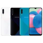 《SAMSUNG》Galaxy A30s  6.4吋質感冰晶時尚美拍機(冰晶白)