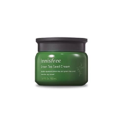 《innisfree》綠茶籽保溼面霜(50ml/罐)