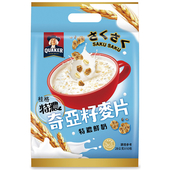 《桂格》奇亞籽麥片-特濃鮮奶28G*10包