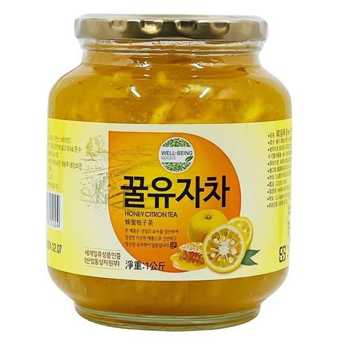 《Han Food》韓國蜂蜜柚子茶(1kg/罐)