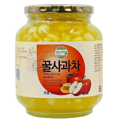 《即期2020.11.26 Han Food》韓國蜂蜜蘋果茶(950g/罐)