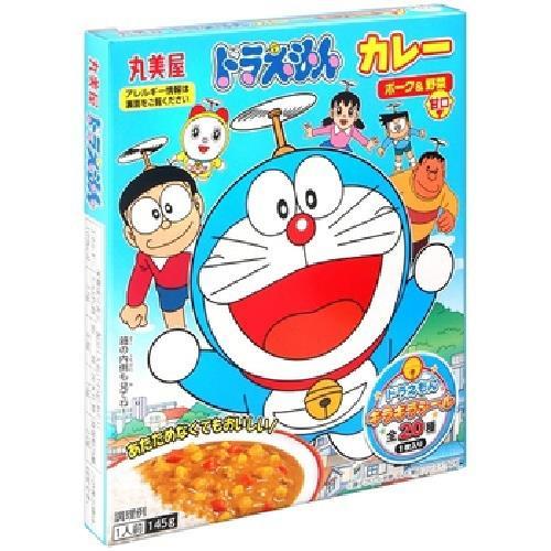 《丸美屋》小叮噹野菜甘口風味咖哩(145g/盒)