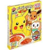 口袋怪獸豬肉野菜風味咖哩(附貼紙)(120g/盒)
